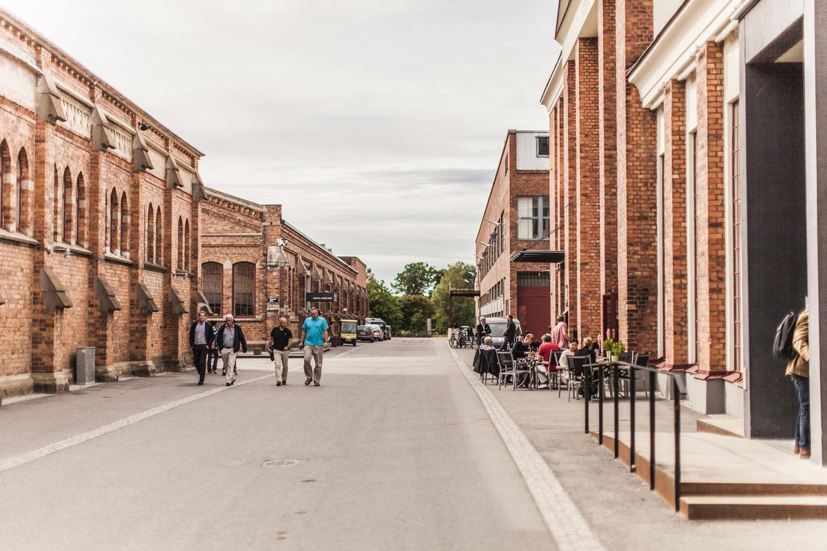 Portgatan, Munktellstaden