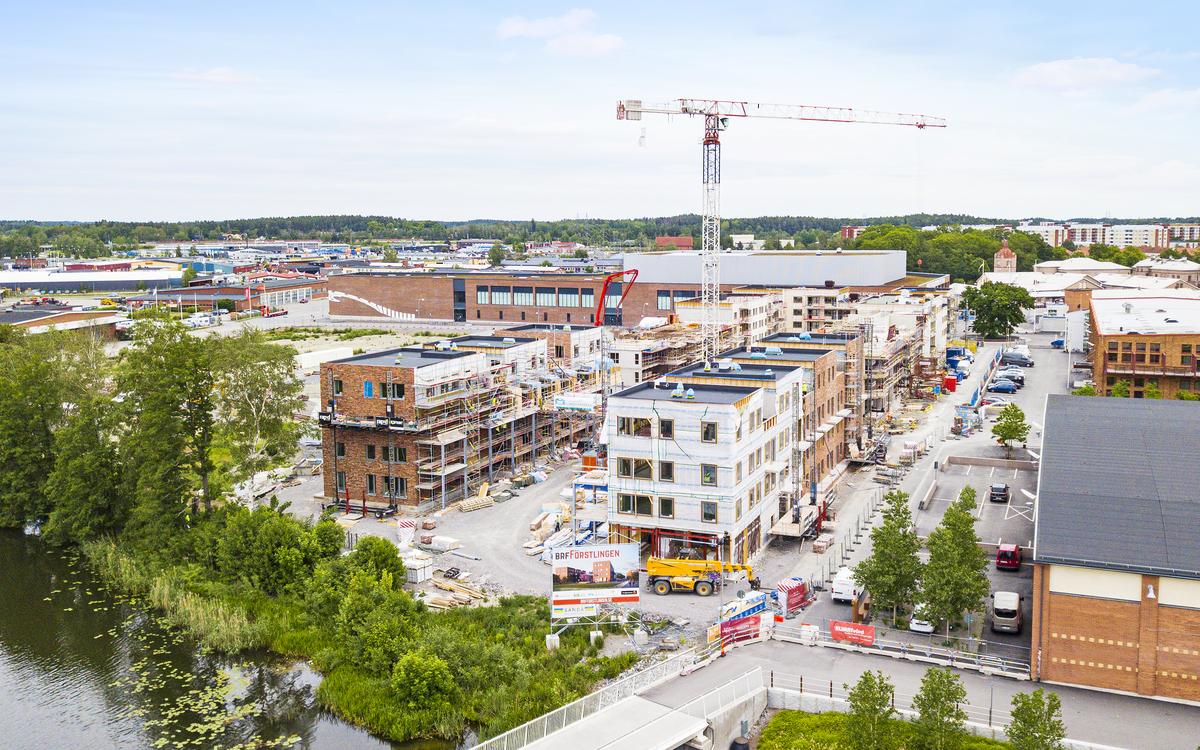 Bygget juni 2019